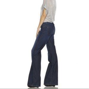 Joe's Jeans Dark Wash Wide Leg Muse Jeans